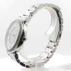 Ladies Michael Kors MK-3355 Caitlin Silver Crystal Pave Dial Watch MK3355