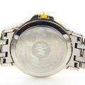 Ladies Raymond Weil Tango Two Tone Model 5360 Watch Roman Numeral Dark Blue Dial