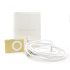 Apple iPod Shuffle 1GB MC167LL/A Model: A1204 Color: GOLD