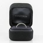 Tiffany & Co Eternity Platinum Wedding Band Ring 1.89CTW Diamond 3.7mm Size 6.75