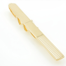 Estate Men's 14K Yellow Gold High Polished 70MM Tie Bar
