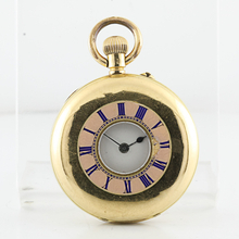 Very Rare 18K Yellow Gold Hunting Pocket Watch Made By Camerer Cuss & Co