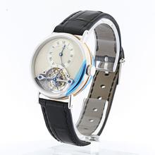 Luxuries Breguet 3450 Tourbillon Two Tone 18K Rose Gold and Platinum Case Watch