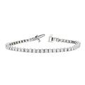 Stunning 14K White Gold Diamond Women's Tennis Bracelet 4.68CTW - Brand New