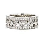 Gorgeous Ladies 14K White Gold Diamond Ring - Brand New