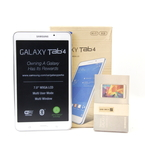 "Samsung Galaxy Tab 4 SM-T230NU Wi-Fi 8GB 7"" 3MP Android White Tablet"