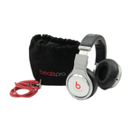 Beats by Dr. Dre Pro Headband Headphones - MH6P2AM/A - Black/Silver
