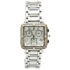 Bulova 96R000 Diamond Accented Stainless Steel Women's Chronograph Watch