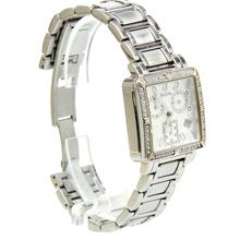 Bulova 96R000 Diamond Accented Stainless Steel Women's Chronograph Watch