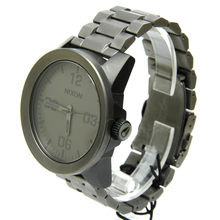 Nixon Take Charge The Corporal Men's Stainless Steel Watch - Charcoal Matte