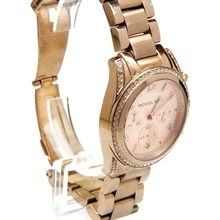 Michael Kors MK-5263 Rose Tone Stainless Steel Women's Chronograph Watch - MK5263