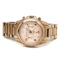 Michael Kors MK-5263 Rose Tone Stainless Steel Women's Chronograph Watch - MK5263