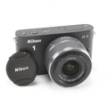 Nikon 1 J1 10.1MP Digital Camera Nikkor 10-30mm f/3.5-5.6 Lens - Black
