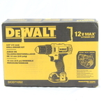 "Dewalt 12V Max Lithium-Ion 3/8"" Cordless Drill/Driver Kit DCD710S2 - New"