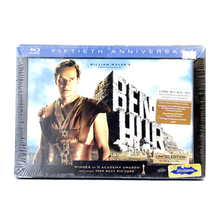 NEW Ben-Hur Fiftieth 50th Anniversary Limited Edition Blu-ray Movie Set