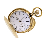 Rare Vintage 1873 ELGIN Pocket Watch National Watch Co - 15 Jewels - 18s Model 1