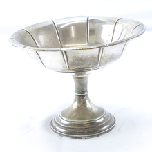 Psco Sterling Weight Silver 6 1/2 Inch Tall Compote Candy Bowl Pedestal