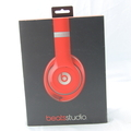 New Beats by Dr. Dre Studio Wired Over-Ear Headphones B0500 - Red