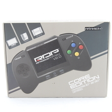 RetroDuo Portable (RDP) Handheld Console V2.0 CORE Edition Black