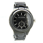 Karl Lagerfeld KL-1205 Black Dial Stainless Men's/Women's/Unisex Watch - Black