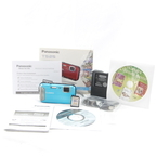 Panasonic LUMIX DMC-TS25 16.1 MP Digital Camera Waterproof DMCTS25 - Blue