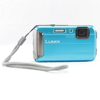 Panasonic LUMIX DMC-TS25 16.1 MP Digital Camera Waterproof DMCTS25 - Blue