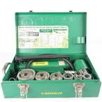 "GREENLEE 7506 Slug Splitter Hydraulic Knockout Punch Hand Pump Set 1/2"" to 2"""