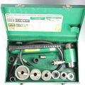 "GREENLEE 7506 Slug Splitter Hydraulic Knockout Punch Hand Pump Set 1/2"" to 2"""