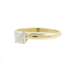 Estate Vintage Ladies 14K Yellow Gold Diamond Solitaire Engagement Ring- 0.35CTW