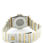 100% Authentic Ladies Omega Constellation 25mm Two Tone 18K Gold & Steel Quartz Watch