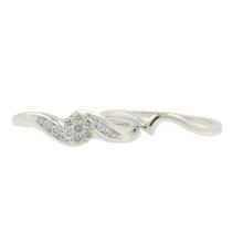 Estate Classic Vintage 14K White Gold Diamond Wedding Ring 2PC Set - 0.30CTW