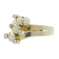 Vintage Classic Estate 8K White Gold Diamond Ladies Ring - 1.35CTW