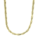 Vintage Estate 14K Yellow Gold Fancy Chain Lobster Claw Clasp Necklace - 16 inch