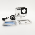GoPro HERO 4 Camcorder/Camera HERO4 - CHDHY-401 - Silver - Mint