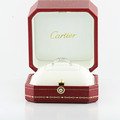 CARTIER MAILLON PANTHÈRE 750 (18K) DIAMOND ENGAGEMENT SIZE 5.25 IN ORIGINAL BOX