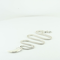 David Yurman Claw Charm & 20Inch Chain Necklace Set 925 Silver Set