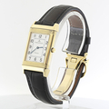 Ladies 18K Yellow Gold Jaeger Lecoultre Mechanical Watch Reverso 250.8.86