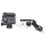 GoPro Hero 3+ Plus CHDHN-302 Sport Action HD Silver Camera/Camcorder Black Case