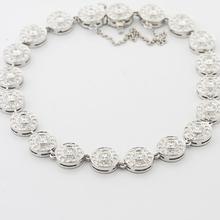 Authentic Tiffany & Co Platinum Round Diamond Circlet Bracelet
