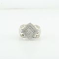 Stunning Quadranscentennial Princes Cut Ladies White Gold 1.82CTW Diamond Ring