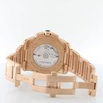Cartier 42mm 18K Rose Gold Black Dial Calibre 3300 Automatic Mens Watch W/Box