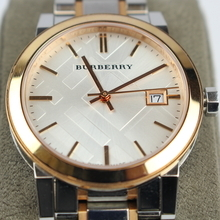 Women's Burberry BU9105 Two-Tone Stainless Steel Watch 34mm
