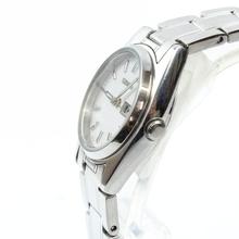 Ladies Seiko 2D1540 Stainless Steel Womens Watch