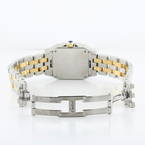 Lovely Cartier Panthere 18k Yellow Gold & Stainless Steel 4.27CTW Diamond Watch
