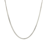 Classic Estate 800 Silver Link Spring Ring Clasp 20 Inch Chain