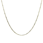 "Classic Estate 925 Silver Lobster Claw Clasp 24"" Chain Necklace"