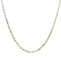 Classic Estate 925 Silver Rope Lobster Claw Clasp 24 Inch Chain