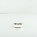 Buy Smart & Save Mens 14K White Gold Princes Cut 1.02CTW Clean Diamond Ring