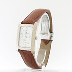 18k White Gold Baume & Mericier Hampton Milleis/ T&CO. Mens Watch