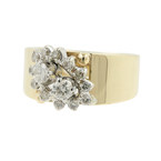 Estate Vintage Ladies 14K Yellow Gold Diamond 0.55CTW Ring